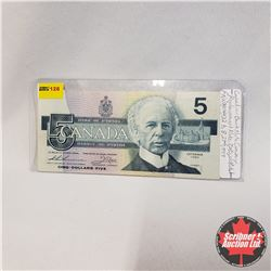 Canada $5 Bill REPLACEMENT 1986 FNB1260016