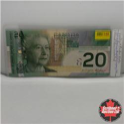Canada $20 Bill 2004 (2 Digit RADAR) AUK3388833