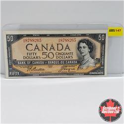 Canada $50 Bill 1954 : Beattie/Coyne AH8788265