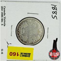 Canada Twenty Five Cent 1885 - Str 5