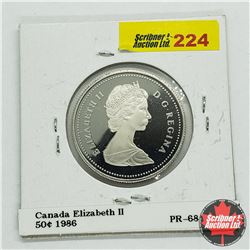 Canada Fifty Cent 1986