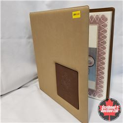 Coin Collecting Binder for Canada Fifty Cent : Information & Year 1870-2017