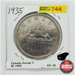 Canada One Dollar 1935