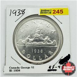 Canada One Dollar 1938