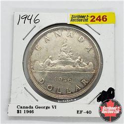 Canada One Dollar 1946