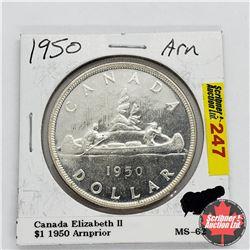 Canada One Dollar 1950