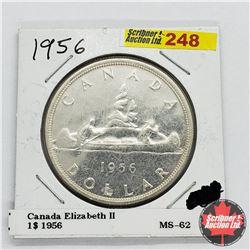 Canada One Dollar 1956