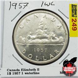 Canada One Dollar 1957 OWL