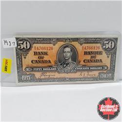 Canada $50 Bill 1937 : Coyne/Towers BH4766126