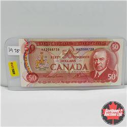 Canada $50 Bill 1975 : Lawson/Bouey HA2088738