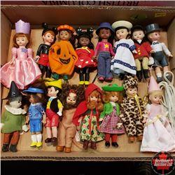 """Variety 5"""" Children's Fairytale/Movie/Disney Dolls (16)"""