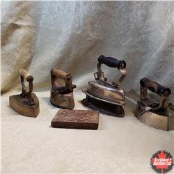 Box Lot: Sad Irons (4)
