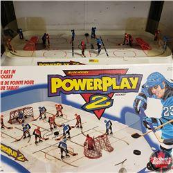 "Table Top Hockey Game ""Power Play II"" w/Box"