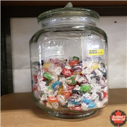 """Peanut Jar 12"""" H (Comes with Hard Candies)"""