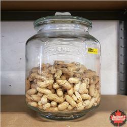 "Peanut Jar 12"" H (Comes with Peanuts)"