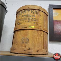 Coast King Sprouts Barrel (no lid)