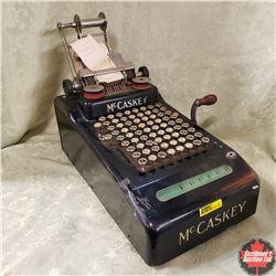 Vintage McCaskey Adding Machine