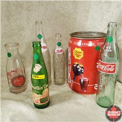 Bottle & Can Collection (Mountain Dew, Pepsi, Coke, Palm Dairies, Chupa Chups)