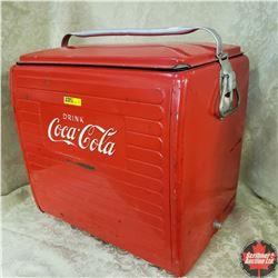 Coca Cola Picnic Basket Cooler 1960 !