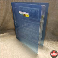 Binder - Foreign Bank Notes (France, Mexico, Chile, etc)