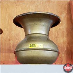 "Painted Steel Spittoon (7"" H)"