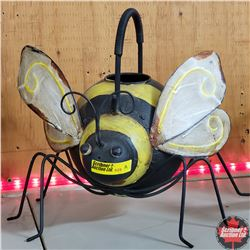 CHOICE of 6: Tin Novelty Watering Cans (Bumblebee)