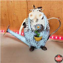 CHOICE of 6: Tin Novelty Watering Cans (Cow)