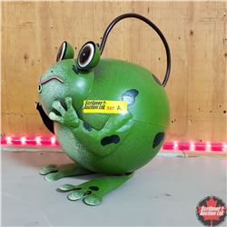 CHOICE of 6: Tin Novelty Watering Cans (Frog)