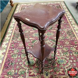 """2 Tier Side Table (34"""" H)"""