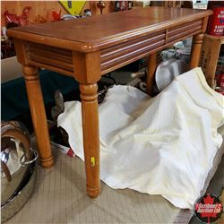 "Sofa Table (28""H x 48""L x 18""W)"
