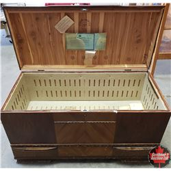 """Waterfall Front Cedar Lined Chest (41"""" W x 19""""D x 24""""H)"""