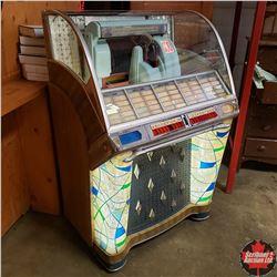 Seeburg Select-O-Matic 100 Juke Box with Records