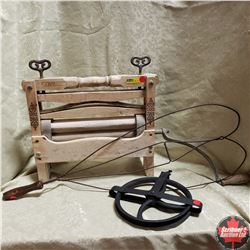 Combo: Clothes Wringer, Pulley & Rug Beater