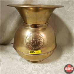 "Brass Spittoon ""All Famous Havana Cigars 5¢"""