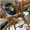 Image 2 : Children's Table & Chair Set w/Record Album Collection