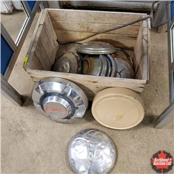 Wooden Crate with Variety Hub Cabs (13) & Camp Fire Hook