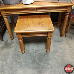 Sofa Table & End Table w/Pull Out Writing Pad
