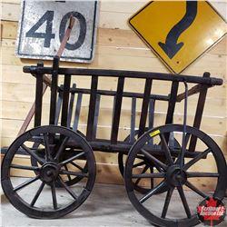 """Goat Cart (43"""" L x 24"""" W x 28"""" H)"""