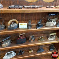 Mini Sad Iron & Trivet Collection!!!  (29 Irons & 5 Trivets)