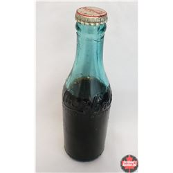 Blue Coca-Cola Bottle (Unopened!) c.1910's (Purity Bottling Co. Started in 1912 by EC Peck)