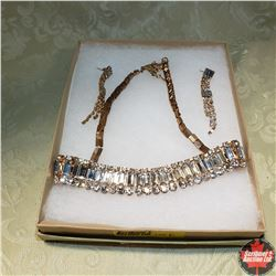 1627 Austrian Crystal Necklace & Earring Set