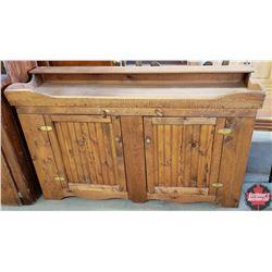 "Refurbished Dry Sink (58""W x 18""D x 34""H)"