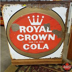 "Tin Sign: Royal Crown Cola (35"" x 35"")"