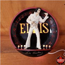Elvis Presley Light Up Plate