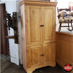 """Wardrobe / Cupboard (40""""W x 18""""D x 76""""H)"""
