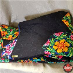 """Queen Size """"Kaleidoscope"""" - FULL PROCEEDS TO LOCAL CHARITY """"HEALTHY FAMILIES"""" (Quilt Donated by Cons"""