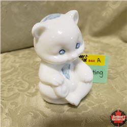 "Fenton Glass Sitting Bear (4"" H)"