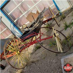 Rustic Buggy Frame (Needs Restoration!)