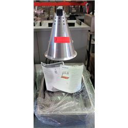 New Two-Bulb Free Standing Adjustable Heat Lamp, Model HL7237PS00