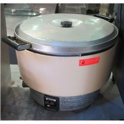 Rinnai Natural Gas Commercial Rice Cooker, Model RER-55ASN